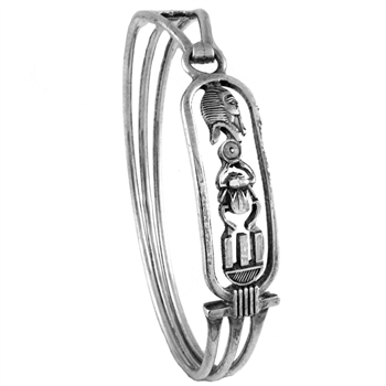 King Tut Cartouche Bangle