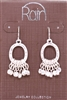 Rain Jewelry bb charm drop earrings 1-1/2""