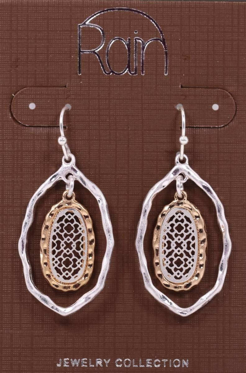 Rain Jewelry Collection Filigree Drop