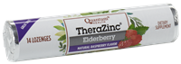 Immune support elderberry zinc lozenge