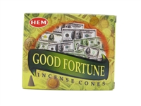 Hem brand incense cones good fortune