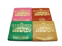 Incense Match matchbook incense 4 scents Frankincense, Oriental Blossom, Musk, Sandalwood each matchstick is a tiny stick of incense