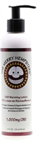 Merry Hempsters CBD Warming Lotion, 1000mg 8 oz bottle.