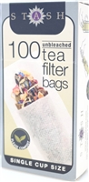 Stash fill your own tea bag filter.  100 unbleached single cup filters