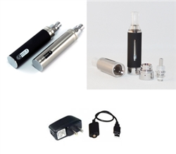 Dual 2200 eGo Custom Clearomizer Kit