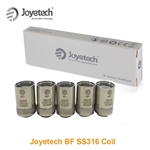 Five (5) Joyetech BF SS316 Coils For eGo AIO