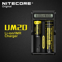 Nitecore UM20 Dual Battery Charger