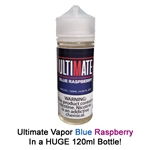 Ultimate Vapor Blue Raspberry E-Liquid - Made in the USA!