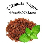 Ultimate Vapor Menthol Tobacco E-Liquid - Made in the USA!