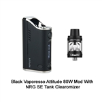 Vaporesso Attitude 80 Watt VW/TC Mod & Tank Clearomizer Kit