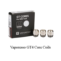 Three (3) Vaporesso GT Core Coils For NRG Tank