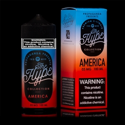 100ml of The Hype By Propaganda Rocket Pop E Liquid - Hand Made in the USA!