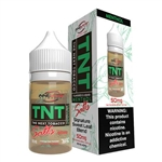 30ml of TNT Nicotine Salts Green Menthol Tobacco E-Liquid-Made in the USA!