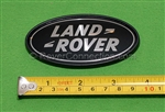 Land Rover Black Oval Badge Emblem