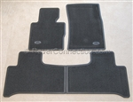 Range Rover Rubber Carpet Mats BLACK