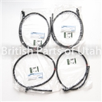 LAND ROVER FRONT REAR SUNROOF WATER DRAIN TUBE HOSE SET x4 LR3 LR4 EEH500100 EEH500110 GENUINE