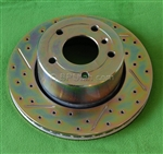 Range Rover Front Brake Rotor Cross Drilled NTC8780