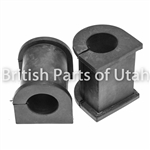LAND ROVER FRONT SUSPENSION BAR BUSH BUSHING SET x2 DISCOVERY II RBX101690 ALLM