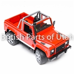 Land Rover Red Defender Pickup Model