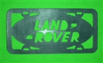 Land Rover License Plate Rubber Gasket