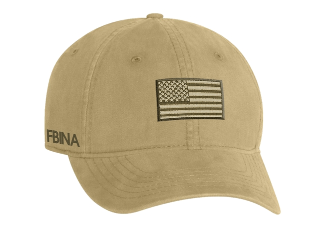 Port & Company® - Washed Twill Cap - Subdued Flag