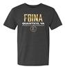 50/50 Cotton/Poly T-Shirt - FBINA Quantico, VA