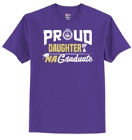 Hanes® 100% Cotton T-Shirt - Proud Daughter Design