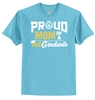 Hanes® 100% Cotton T-Shirt - Proud Mom Design