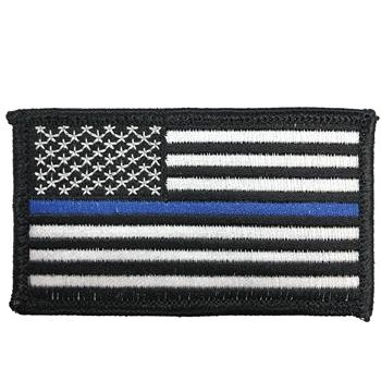 USA Thin Blue Line Velcro Patch
