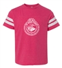 Youth Football Fine Jersey T-Shirt - One Color Seal