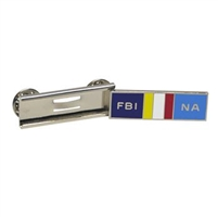 FBINA Silver Slide Bar Pin