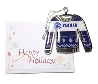 FBINAA Sweater Ornament