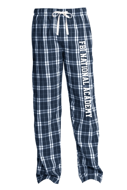 Flannel Plaid Pant - FBI National Academy