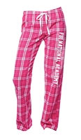 Women's Flannel Plaid Pant - FBI National Academy
