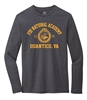 Long Sleeve Heather Tee - FBI National Academy/Quantico Design