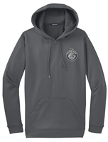 Performance Fleece Hooded Pullover - Subdued Seal