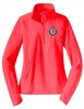 Ladies Performance 1/2-Zip Pullover - FBINA Subdued Seal