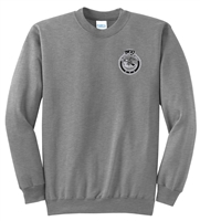 Fleece Crewneck Sweatshirt - Subdued Seal