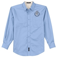 Long Sleeve Easy Care Shirt - FBINA Seal