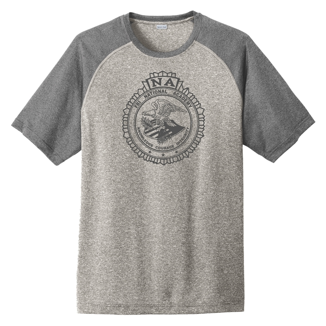 Heather-On-Heather Performance Tee - One Color Seal