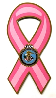 Pink Patch Ribbon Magnet