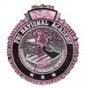 Pink Velcro Patch