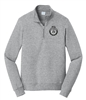 Fleece 1/4-Zip Pullover Sweatshirt - FBINA Subdued Seal