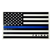 Blue Line Flag Magnet