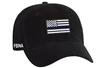 Port & Company® - Washed Twill Cap - Thin Blue Line Flag