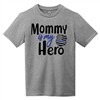 Youth Heather T-Shirt - Mommy Is My Hero
