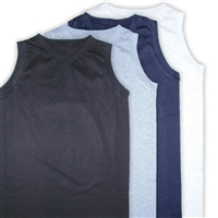 "LADIES SLEEVELESS V-NECK ""LIMITED SIZES"""
