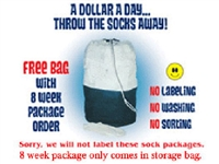 8 WEEK SOCK PACKAGE