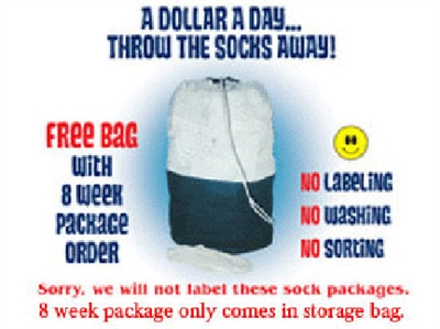 4 WEEK SOCK PACKAGE