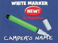WHITE MARKER PEN
